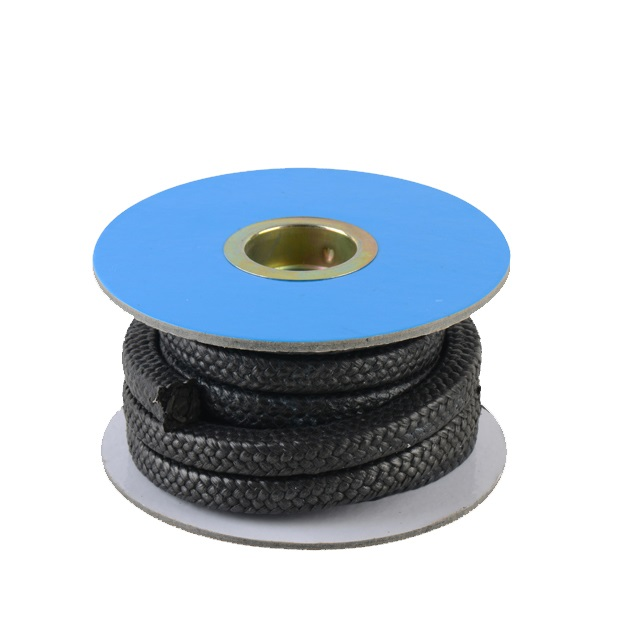 China Manufacturer White Pure Gland Braided Packing PTFE Graphite Gland Packing