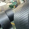 Chevron Patterned Rubber Conveyor Belt