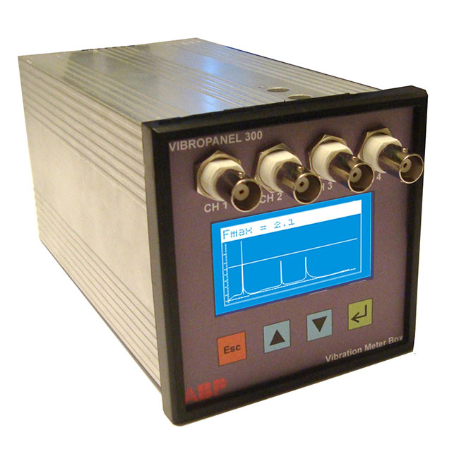 Vibro Control 300 Overall Data Model Vibrocontrol Spectrum Analyzer