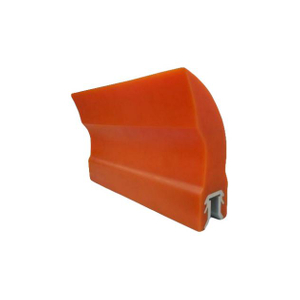 Heavy Duty Segment Type Material Handling Parts Conveyor Cleaning System Polyurethane Conveyor Belt Scraper Return Belt Sweeper