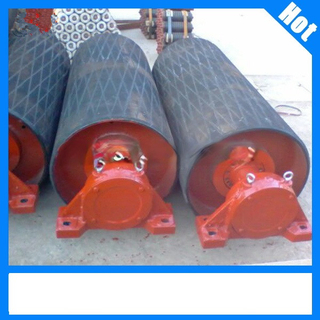 Belt Conveyor Drive Pulley with Rubber Lagging