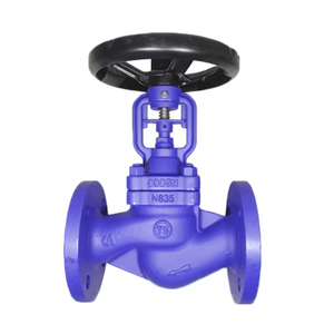 Cast Carbon Steel WCB Flange Type Bellow Seal Globe Valve