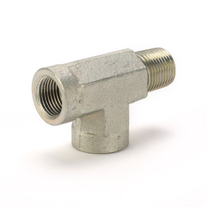 Tee Steel Pipe Fifting Threaded Pipe Fitting
