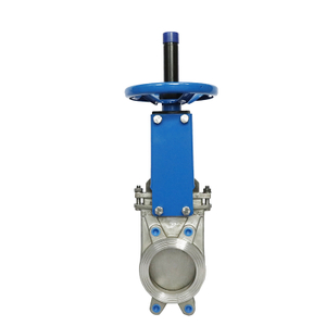 Electric Knife Sliding Gate Valves with Cast Iron Body