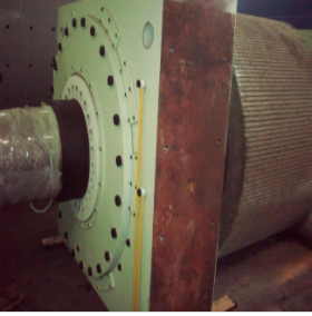 Roller Press Shafting Assembly